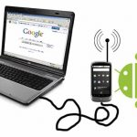 Internet Tethering with Android
