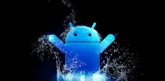 Blue Android Logo