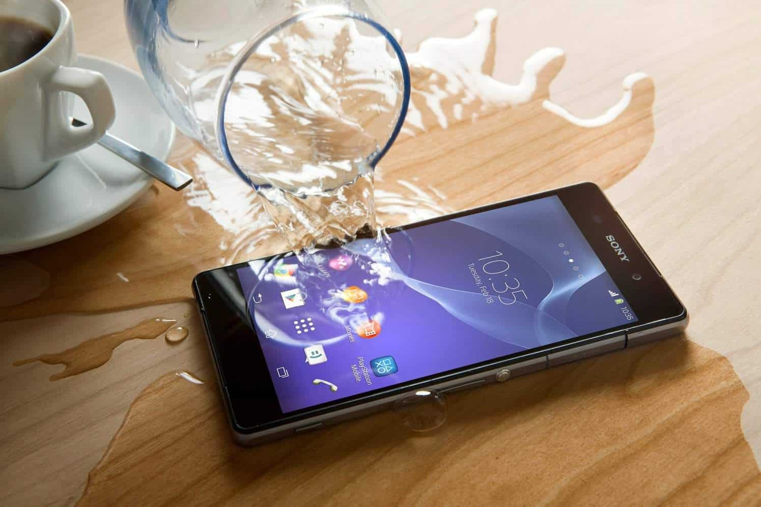 Sony water-proof technology
