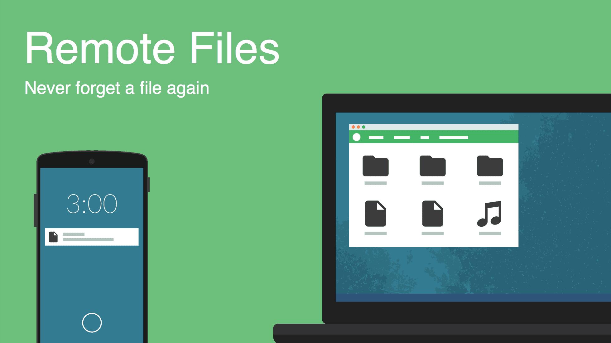 remote files